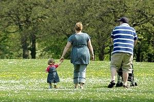 большая мать - толстый ребенок