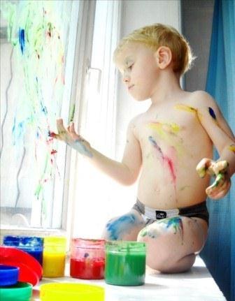 ребенок и рисование