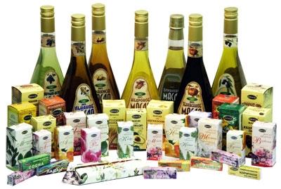 эфирные и косметические масла
