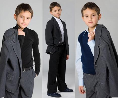 Гардероб для первоклассника-мальчика