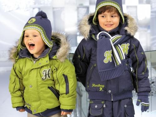 Детский зимний костюм для мальчика ЗС
