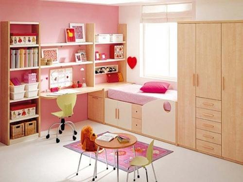Оформляем интерьер детской комнаты для маленькой принцессы