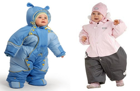Как выбрать теплую одежду для малыша