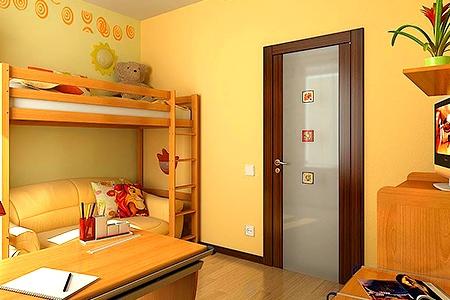 Как выбрать безопасную дверь в детскую комнату