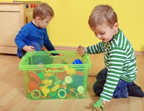 Прибираем игрушки – миссия невыполнима