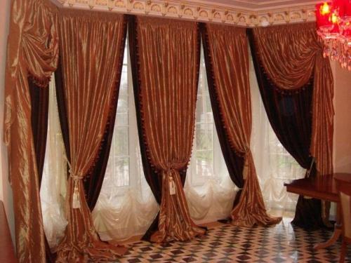 Портьеры украсят любые окна