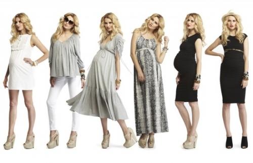 Как во время беременности оставаться модной?