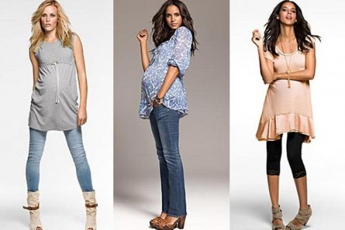 Как оставаться модной во время и после беременности?