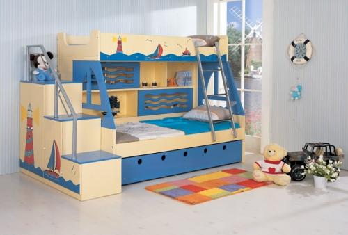 Каких правил нужно придерживаться при выборе мебели для детской комнаты?