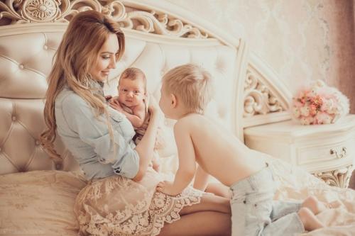 Как хорошо выглядеть, будучи матерью двоих детей?