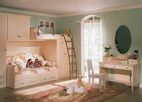 Учимся создавать идеальный интерьер детской комнаты