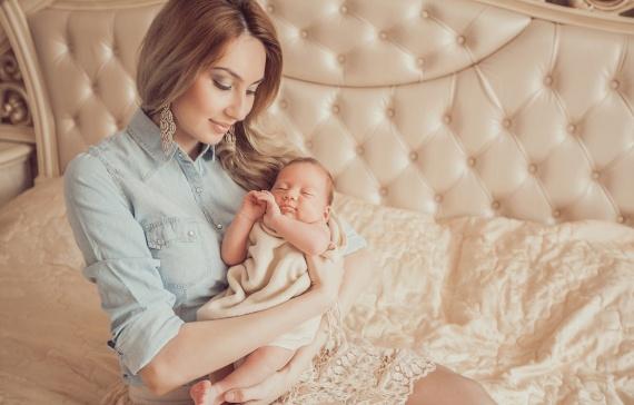 Учимся быть модной мамой