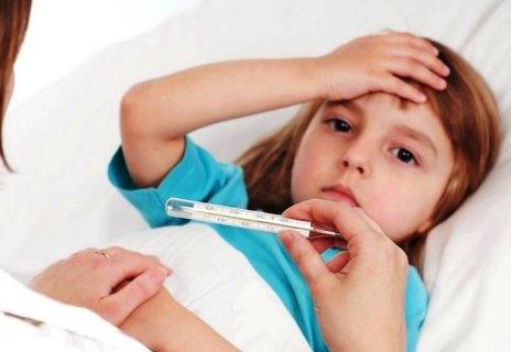 ребенок температура как понизить