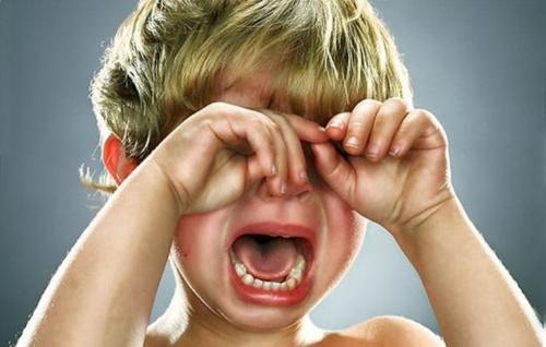 Что делать, если у ребенка истерика?