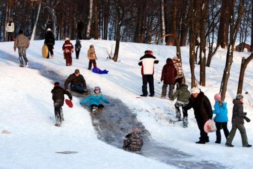 О зимних развлечениях для ребенка