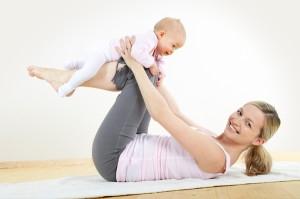 Йога и ребенок до года