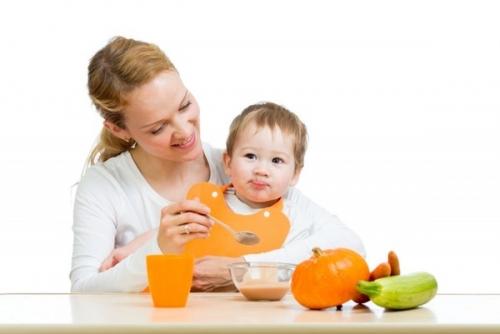 О первом блюде малышей – пюре