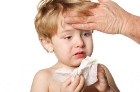 О симптомах и лечении ринита у детей